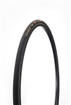 Challenge - STRADA PRO - Road Handmade Clincher - 25mm - Black/Black - 300tpi SuperPoly - PPS (anti-puncture belt) - 240gr - 100-145psi