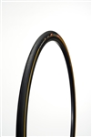 Challenge - ELITE PRO - Road Handmade Clincher - 23mm - Black/Tan - 260tpi SuperPoly - PPS (anti-puncture belt) - 230gr - 100-145psi