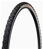 "Challenge - LIMUS TE S - CX Handmade Tubular - 33mm - Black/White - Soft ""S"" Compound Tread - 320tpi Sealed Corespun Cotton - Latex Tube - PPS (anti-puncture belt) - 410gr - 23-90psi"