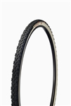 "Challenge - BABY LIMUS TE S - CX Handmade Tubular - 33mm - Black/White - Soft ""S"" Compound Tread -320tpi SuperPoly - Latex Tube - PPS (anti-puncture belt) - 410gr - 23-90psi"