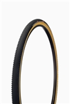 Challenge - DUNE PRO - CX Handmade Tubular - 33mm - Black/Tan - 300tpi
