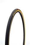 Challenge - STRADA BIANCA PRO - Gravel Handmade Tubular - 30mm - Black/Tan - 260tpi Superpoly - Latex Tube - PPS2 (2 layer anti-puncture belt) - 380gr -  55-115psi